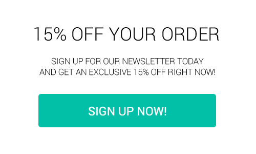 15% OFF YOUR ORDER