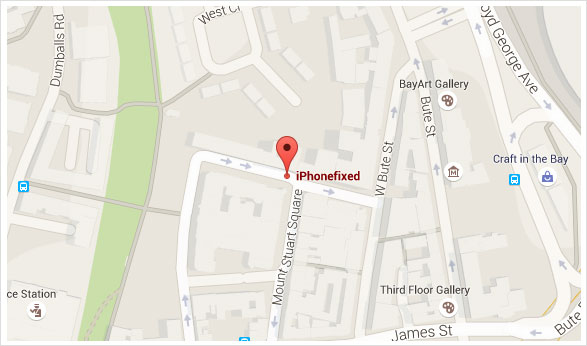 Map of our location St Line House, Mount Stuart Square, Cardiff