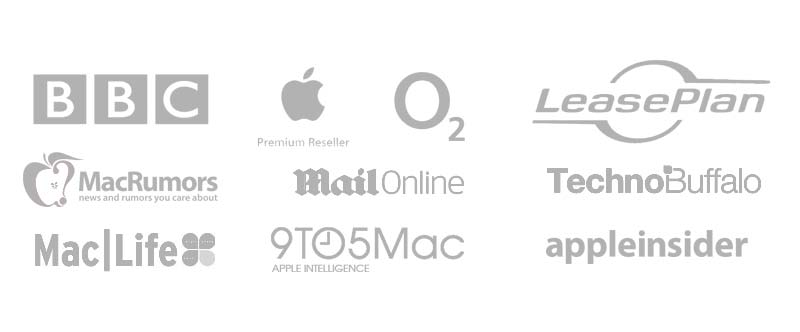 Featured in or recommended by BBC, Leasplan, O2, Apple Premium Resellers, 9 to 5 Mac
