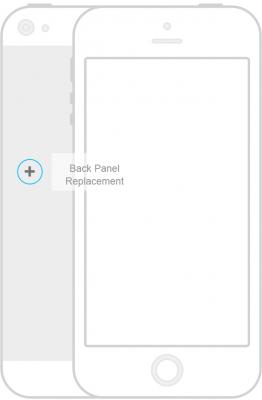 iPhone 6 plus or 6s plus back case repair