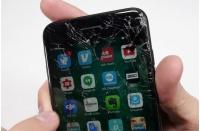 Broken iPhone 7 screen cardiff